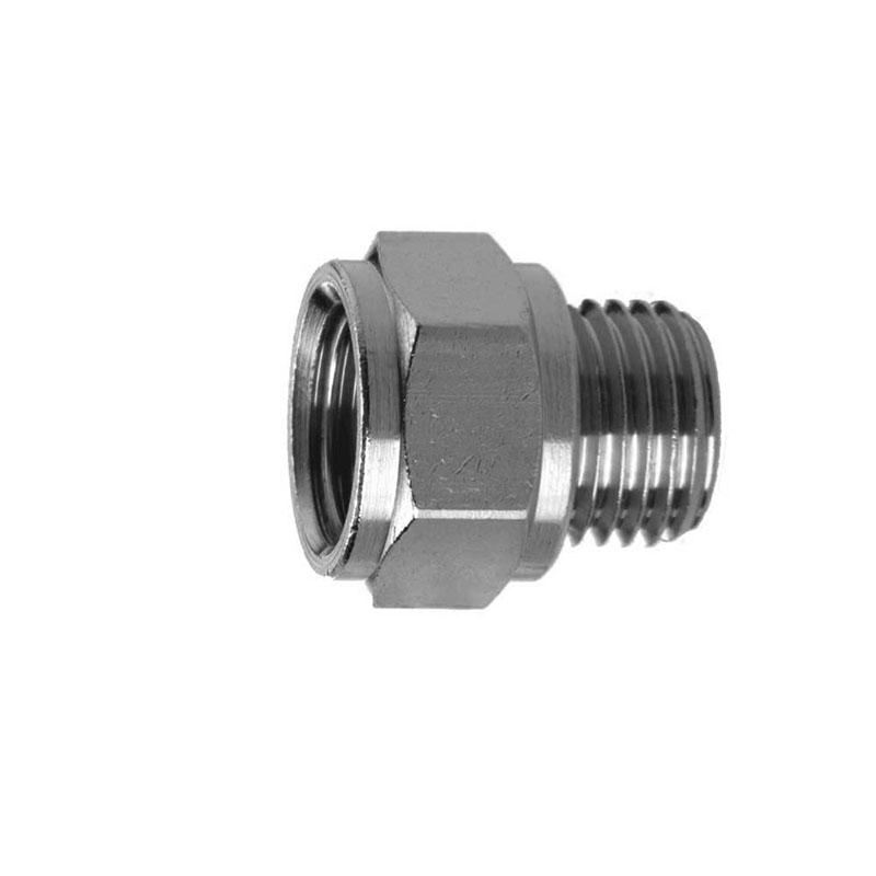 Camozzi - 2521 3/8-3/8 BSP Adaptor-Adaptor-Male 3/8-Female 3/8 Thread