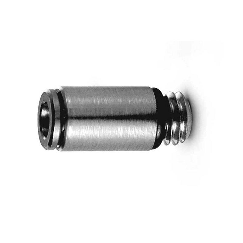 Camozzi - 6512 4-1/8-M Push In Fitting-Male Stud-4mm Tube-1/8 Thread