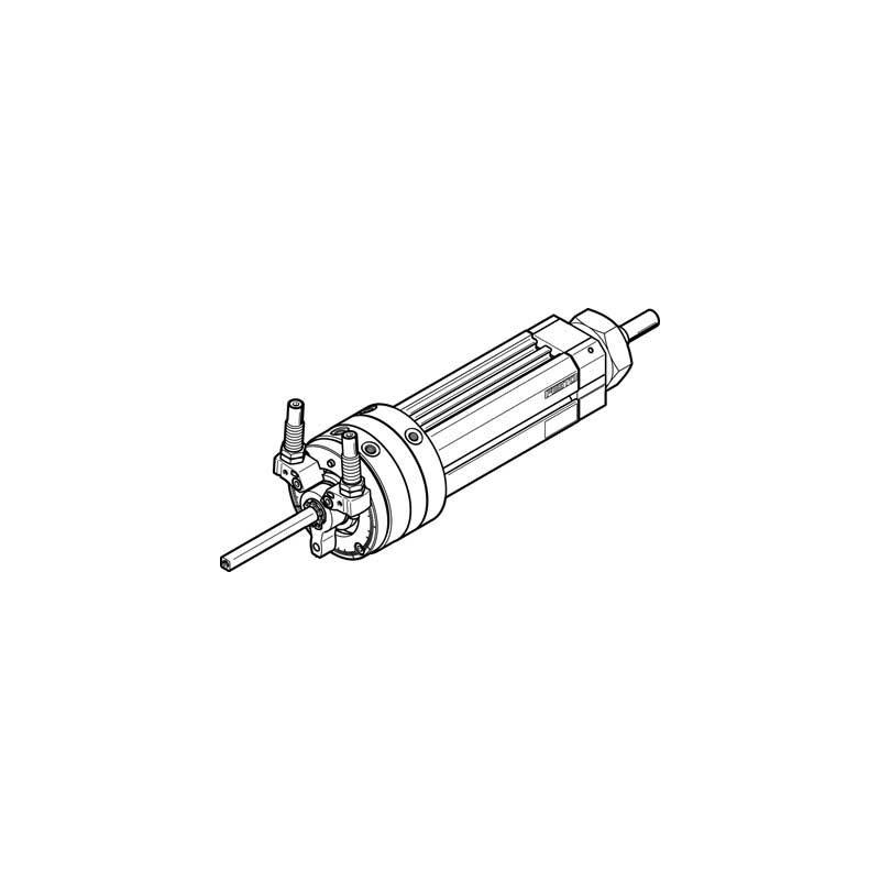 Festo DSL-16-80-270-CC-A-S20-B_556412 Swivel/Linear Unit