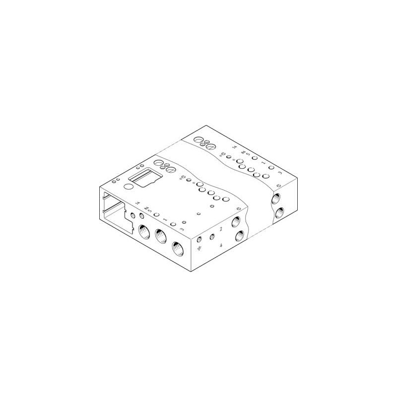 Festo VABM-L1-14W-G14-4-GR_573500 Manifold Rail